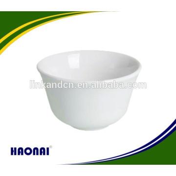 Tazón de fuente de la sopa de la mano de la alta calidad porcelana para el hotel con entrega rápida