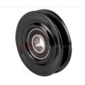 V-groove belt tensioner pulley