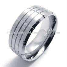 italian 316 stainless steel shaped charm ring