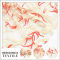 Tela floral del cordón de la boda del bordado de Tulle de la moda india del diseño personalizado