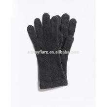 Atacado Black High Quality Cashmere Knit Winter Gloves