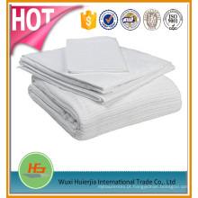 Cobertor térmico do leno do hospital da cor sólida do algodão de 100%