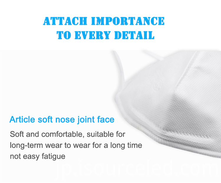 With FDA earloop mouth Disposable kn95 mask