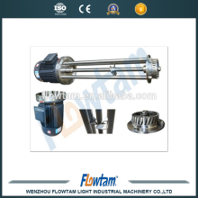food grade sanitary stainless steel 1000L high batch shear mixer China supplier