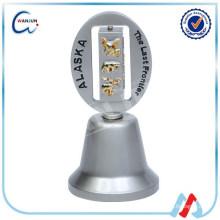 Antike kleine Messing logo Enamel Bell