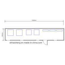 Prefabricated House Container Home Used as Dining Room (shs-fp-kitchen&dining002)