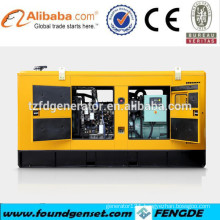 Famous factory open and silent type diesel 55kw power generator