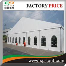 PVC-Party-Festzelt-Party-Hochzeitszelt mit transparenten Fenstern oder Boden
