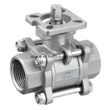 3-PC Ball Valve with ISO5211