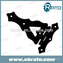 RH-1291 dobradiça ajustável da correia do portão de metal