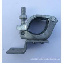 Acoplador de andamio para forjar y fundir para uso en la construcción