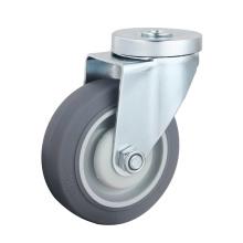 Bolt Hole Medium Duty Caster, TPR Caster