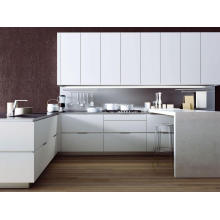 Plywood MFC Material and Classic Style Modern China Kitchen Cabinets