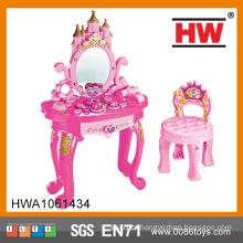 Maquiagem Mesa de vestir para meninas Acessórios mesa de vestir mini