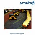 Revestimento de borracha colorido do assoalho do Gym do EPDM do PVC