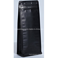 Plastic Aluminum Stand up Coffee Packaging Food Bag with Zipper