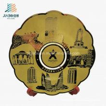 Placa feita sob encomenda da lembrança do metal da cópia de bronze da promoção da venda superior