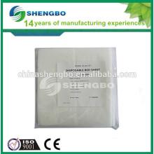 Disposable medical nonwoven pillow cover