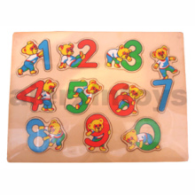 Wooden Number Puzzle (81013)
