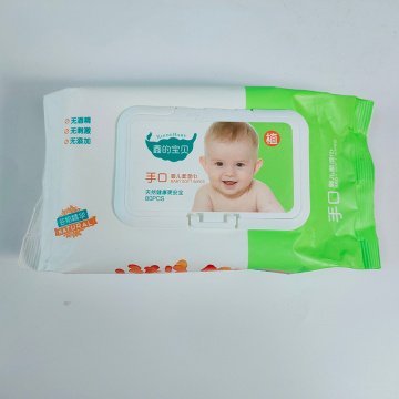 Großes Paket 80PCS Sensitive Baby Unscented Wet Wipes