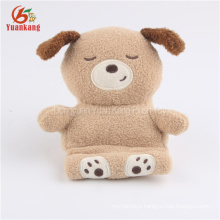 plush stuffed puppy promotional giveaway toys dog mobile phone holder
