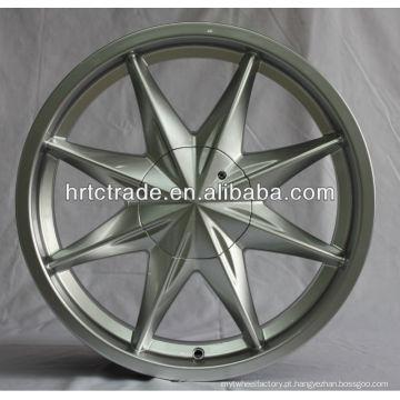 Prata de 16 polegadas de alumínio quente Alloy Car rodas jantes