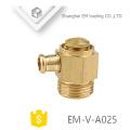 EM-V-A025 Válvula de ventilación de aire de latón para sistema de calefacción
