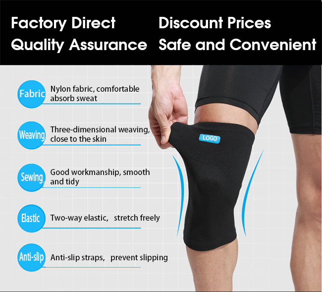 prevent slipping knee pad