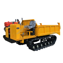 Factory price 33 KW crawler transport vehicle with agriculture rubber track