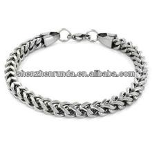 Hot Sale Stainless Steel Bracelet Mens Franco Box Chain Bracelet Manufacturer