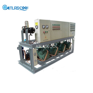 Cold Room Machine Outdoor Refrigeration Compressor Unit