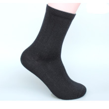 15PKSC07 2016 Men's business plain knitting breathable bamboo sock