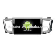 1024X600 pantalla táctil de 10 pulgadas android 4.2 OBD TPMS DVD del coche para Toyota 2013 RAV4 con GPS / Bluetooth / TV / 3G / WIFI