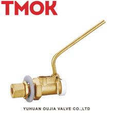válvula de flutuação pneumática de bronze do veículo do tanque de água