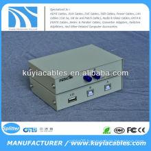 Manual 2 Port USB 2.0 PC Scanner /Printer Sharing Switch Box