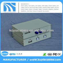 Руководство 2 порта USB 2.0 ПК Scanner / Printer Sharing Переключатель Box