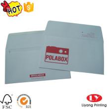 Gift White Paper Envelope with Logo