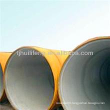 Epoxy powder coating pipe steel