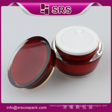 Professional Design Drum Shape Cream Jar For Skincare , 15ml 30ml 50ml Luxury Cosmetic Containers