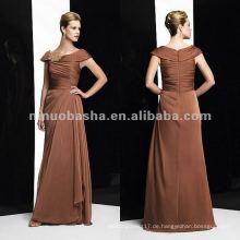 NY-1987 Tiffany Chiffon ein-linemother Kleid