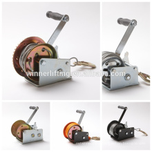 2,500lbs cable winch/pulling winch/power winch/hand winch