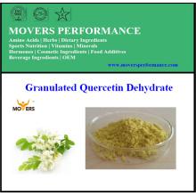Quercétine déshydrate de colorant naturel de haute qualité (quercétine 98%)