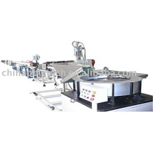 The flat drippier irrigation pipe extrusion line