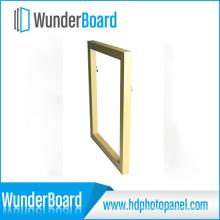 Neuer Produkt PS Bilderrahmen für Wunderboard Sublimation HD Metalldrucke