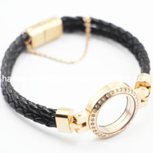 Fabricant Grossiste Locket Bracelet en cuir magnétique Bijoux