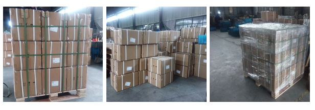Packing of 4V320-10 3/8'' pneumatic solenoid valve in CNC machines