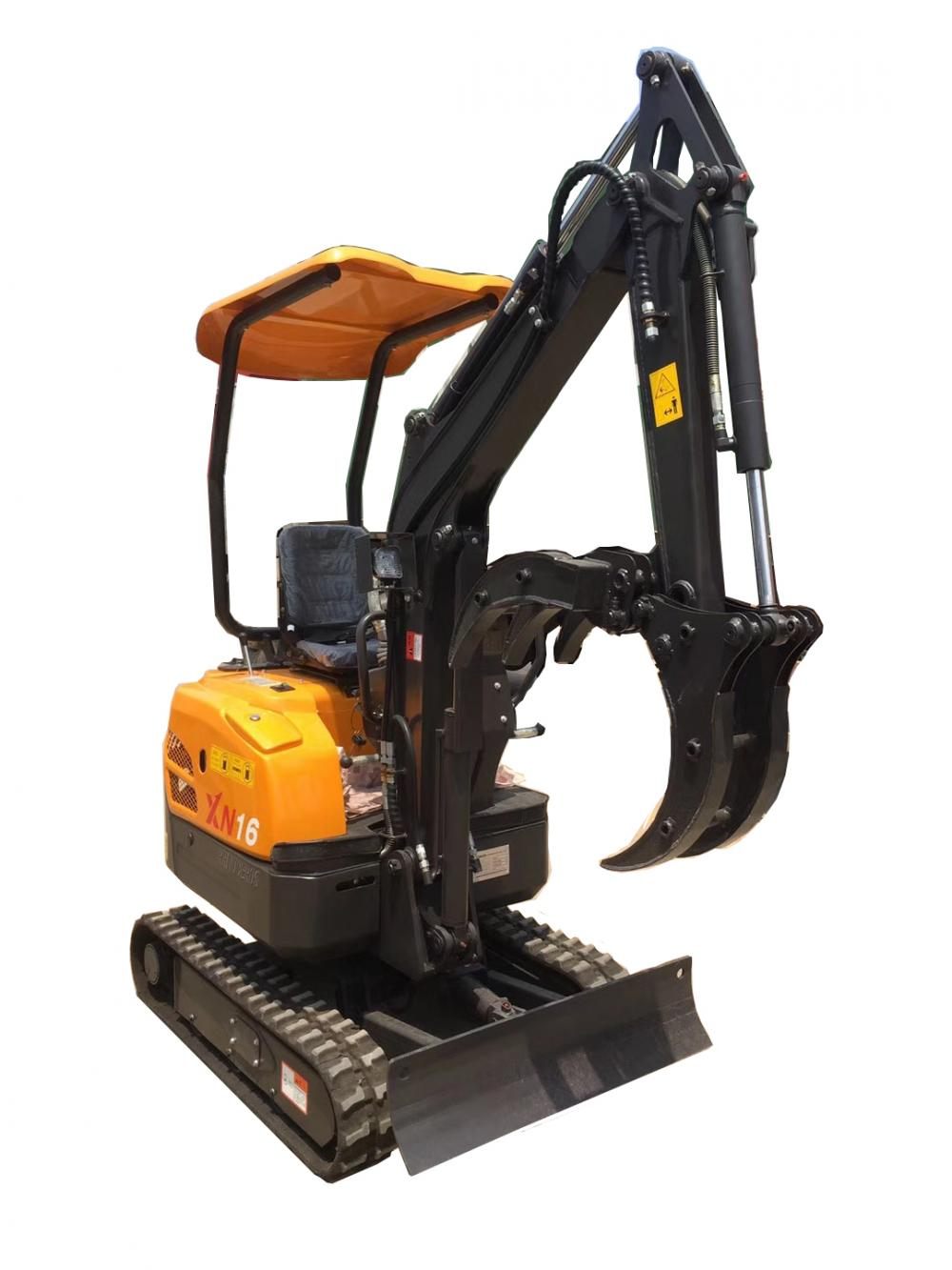 crawler excavator specifications