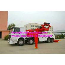 371hp 8x4 25 toneladas de caminhões de reboque do Wrecker