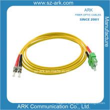 ST / PC-SC / PC Cable de fibra óptica duplex de un solo modo (longitud personalizada)