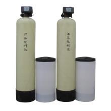 6000 Liter/Hour Dual-Valve Dual-Tank Water Softener System